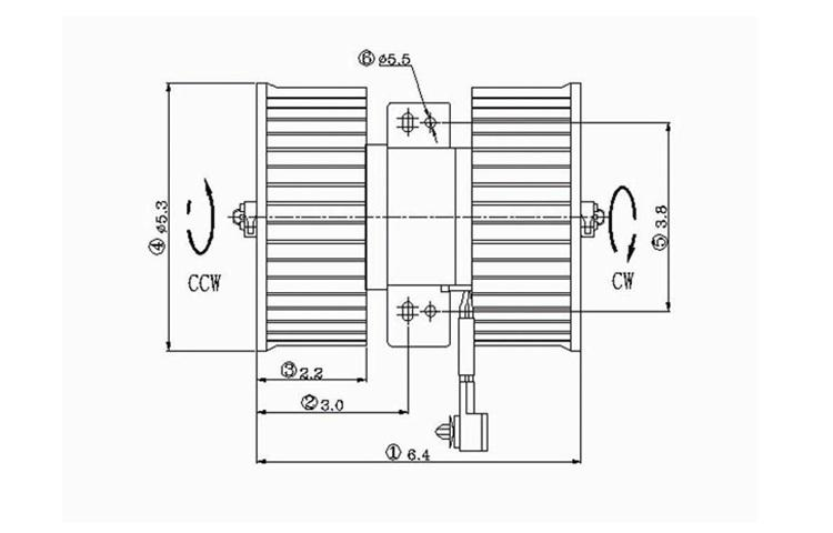 Purchase Replacement Blower Motor Assembly 1991-1995 92 93