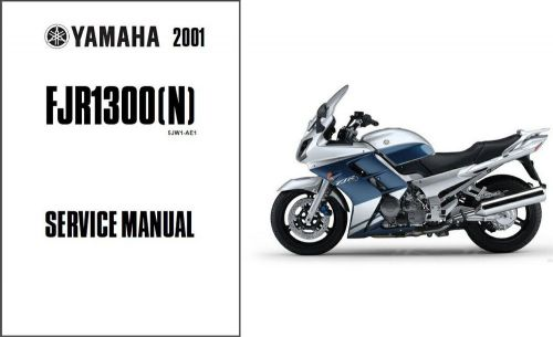 Find Genuine Yamaha Motorcycle Service manual FJ1100L