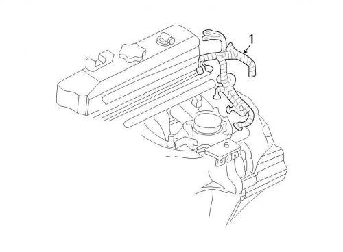 Buy Chrysler OEM Chrysler Engine Wiring Harness 04801568AC