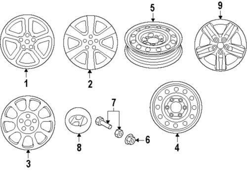 Sell BMW Hubcaps Center caps OEM Steel Wheels E46 E36