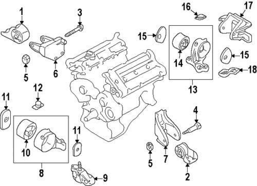 Find MERCEDES-BENZ ENGINE SUPPORT BRACKET and MOUNT, Left