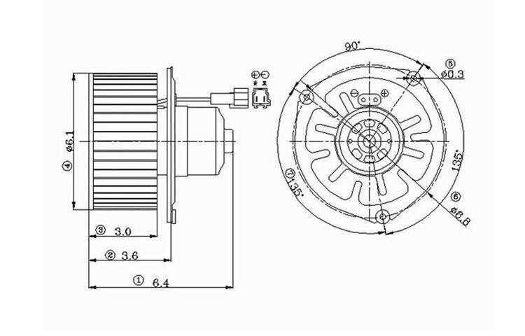 Find Replacement Blower Motor 94-03 95 96 97 98 99 00 01