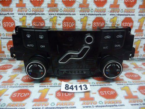 12 13 14 Hyundai Accent Ac Heater Temperature Climate Control Switch