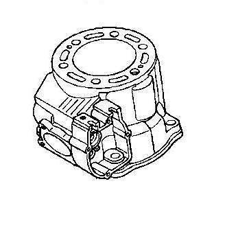 Purchase NEW GENUINE HONDA OEM 2005 CR250 CR250R CYLINDER