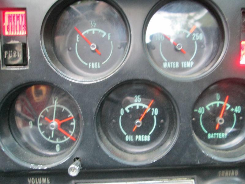 Chevy Truck Wiring Diagram Lights Buy 68 69 71 Corvette Green Tint Gauge Cluster Speedometer