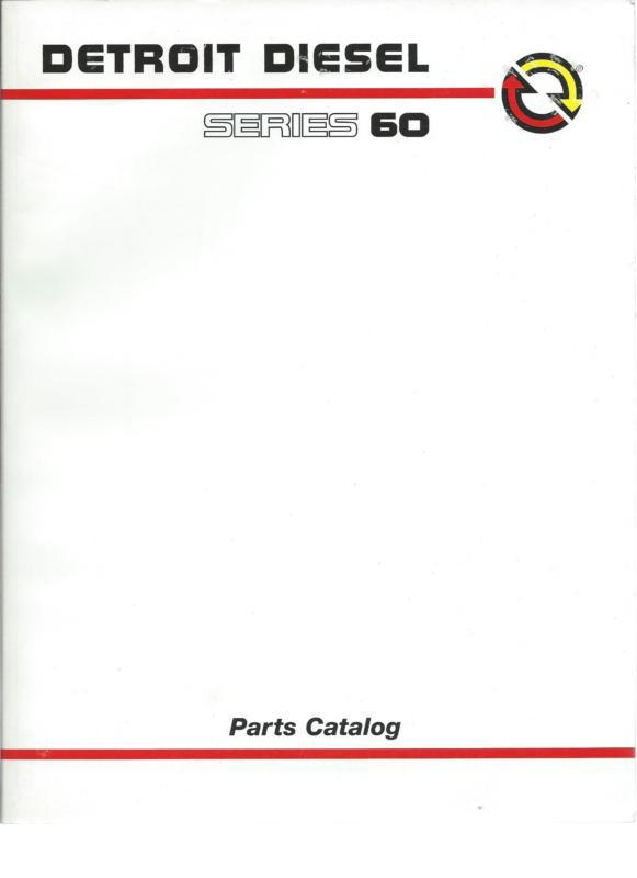Find Detroit Diesel Series 60 part manual motorcycle in