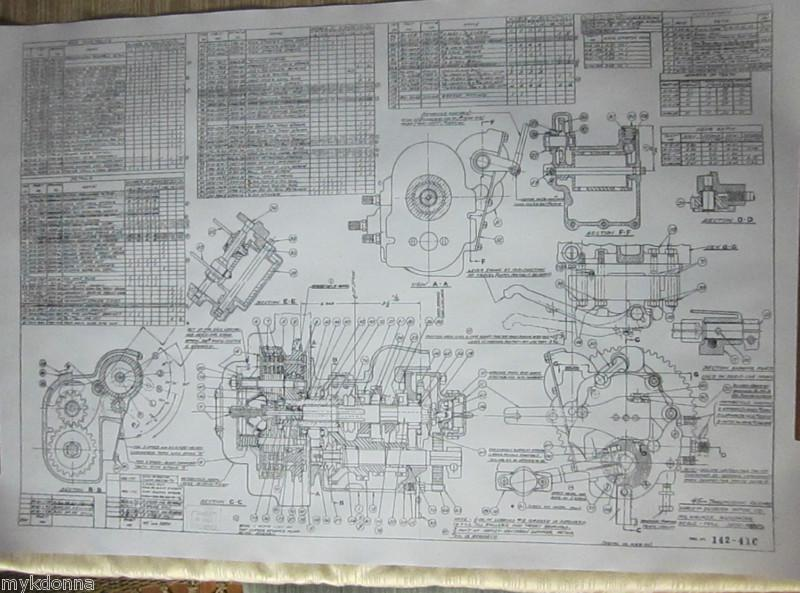Diagram On Harley Davidson Motorcycles Clutch Parts Diagram