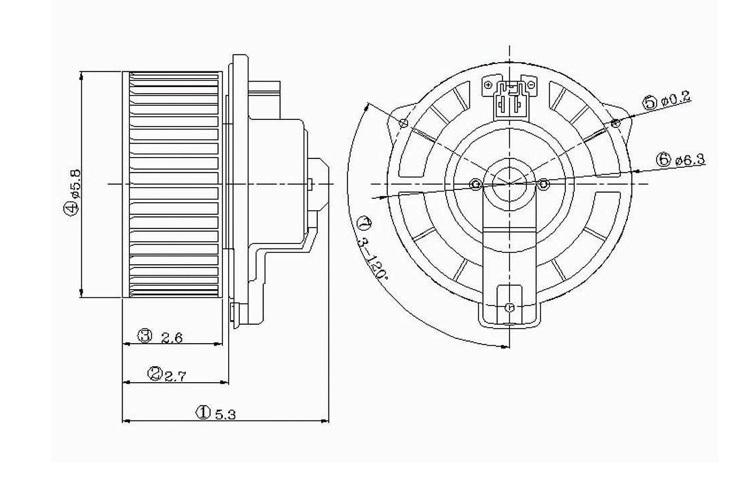 Purchase Replacement Blower Motor Asy 97-04 1997-2004