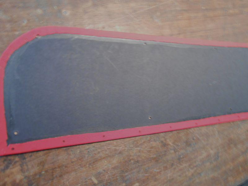 Buy DOOR PANELS 73 87 CHEVY TRUCK LOWER PANELS RED VINYL