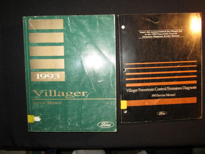 1992 Ford Festiva Original Electrical Vacuum Troubleshooting Manual