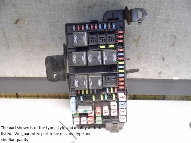 Ford F250 Fuse Panel Diagram Battery Junction Box