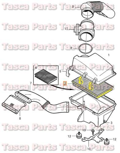 Sell BRAND NEW OEM AIR FILTER INSERT 2001-2009 VOLVO S60