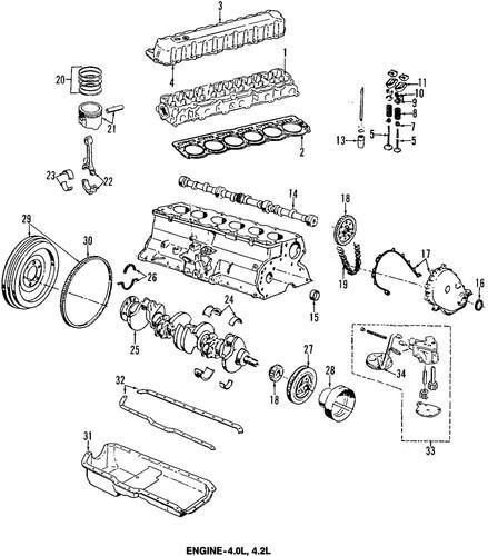 Buy JEEP OEM 33002986 Engine Push Rod/Push Rods motorcycle