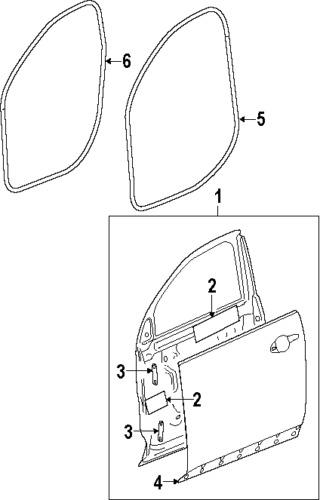 Purchase GMC 25801012 GENUINE OEM FACTORY ORIGINAL LOWER