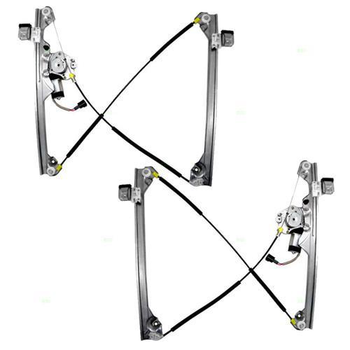 Buy New Pair Set Front Power Window Lift Regulators