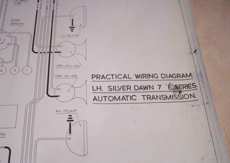 Wiring Diagram For 1961 Cadillac All Series Part 1