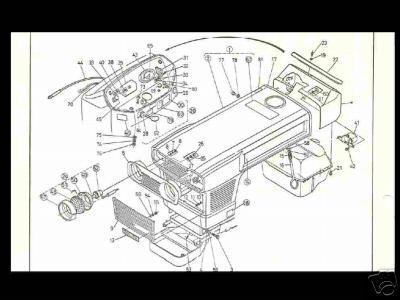 Find KUBOTA L225 L225DT L 225 PARTS PART DIAGRAM MANUAL