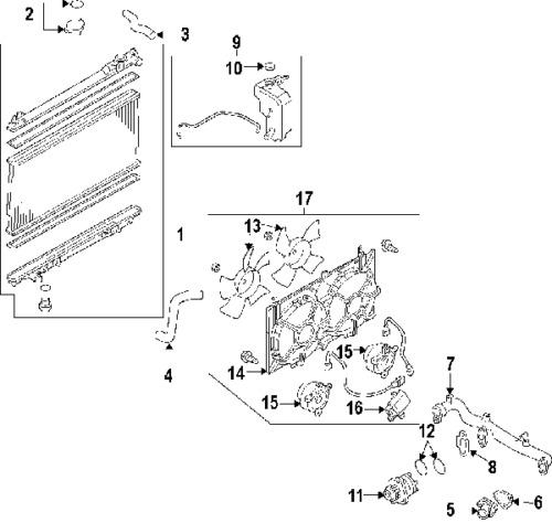 Find 05-09 FORD MUSTANG RADIATOR CORE SUPPORT ASSEMBLY NEW