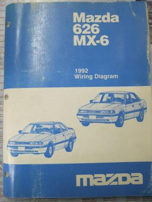 Sell 1992 Mazda 626 MX6 Wiring Diagram motorcycle in