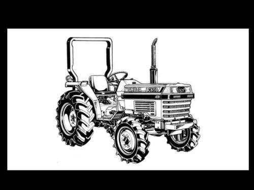 Sell KUBOTA L2250 L2550 L2850 L3250 L-2250 TRACTOR MANUAL