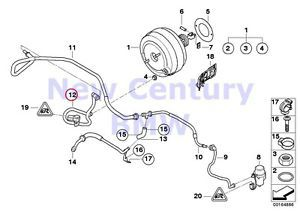 Buy BMW Genuine Power Brake Unit Depression Vacuum Line