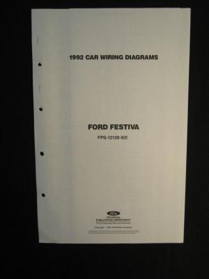 Buy 1992 Ford Festiva FPS1213692I Electrical Wiring