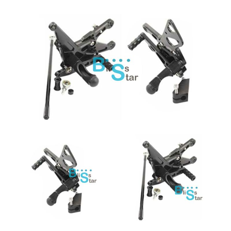 Find Black CNC Adjustable Rear Sets Rearsets Fit Yamaha
