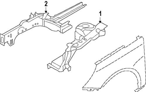 2002 Nissan Xterra Engine Diagram Rear Seal