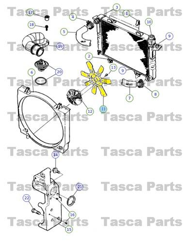 Buy NEW OEM ENGINE COOLING FAN 2000-2002 DODGE RAM TRUCSK