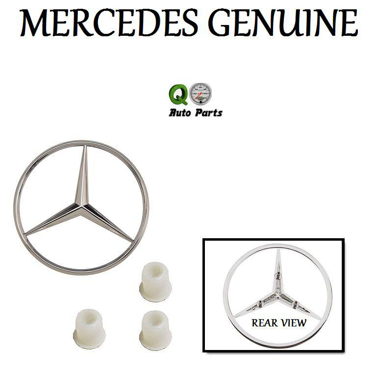 Purchase Mercedes W126 350SDL 380SEL Emblem + 3 Emblem