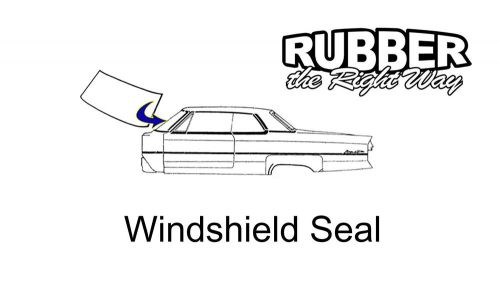 Find 1955 1956 1957 Ford Thunderbird Windshield Seal