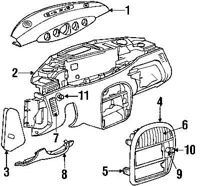 Buy Toyota Truck & 4Runner SR5 Gauge Cluster 1985-1988