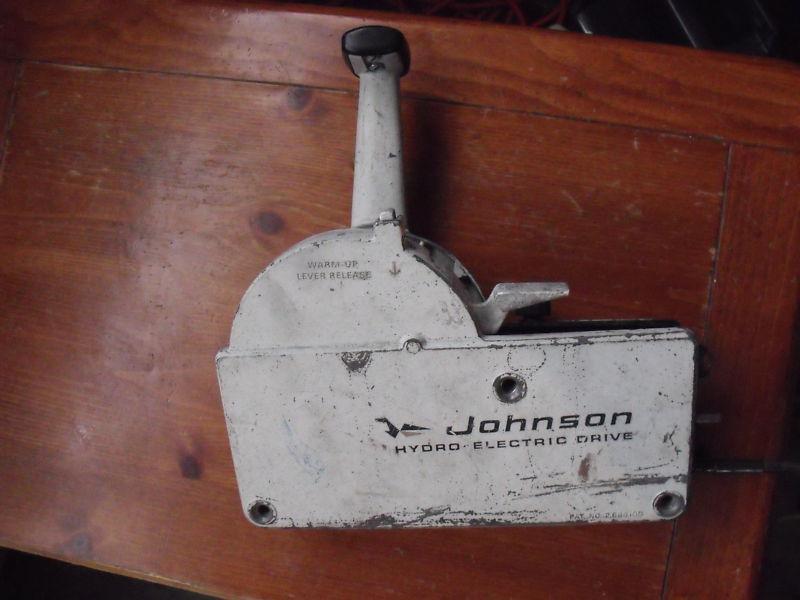 50 Mercury Wiring Harness Diagram Sell Johnson Hydro Electric Drive Control Box Controller