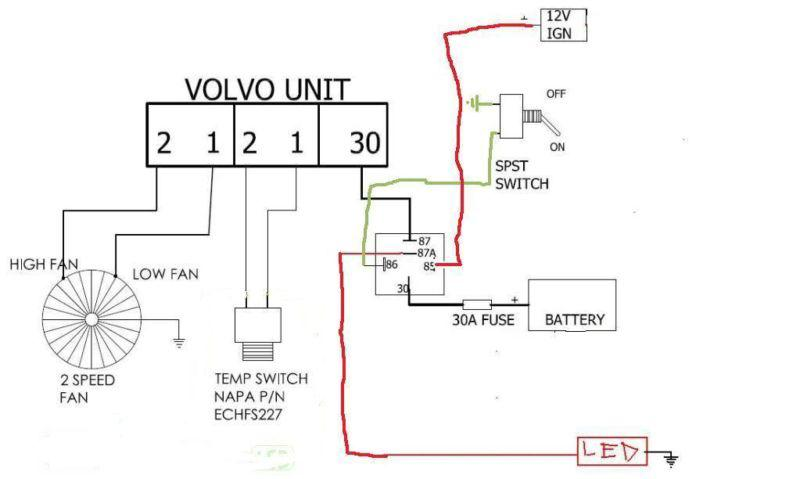 2007 Volvo Xc70 Wiring Diagram Purchase Taurus 3 8 2 Speed Electric Fan Amp Volvo