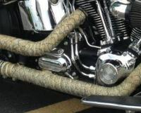 Purchase 15' SNAKESKIN RAT WRAP Header/Motorcycle Exhaust ...