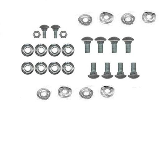 Purchase 1965-1970 MUSTANG BUMPER BOLT KIT, COMPLETE