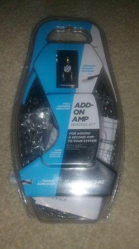 Dual Amp Wiring Kit