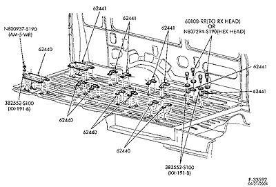 Find 3C2Z1662441CA Striker Seat Lock 03 04 05 06 07 E350