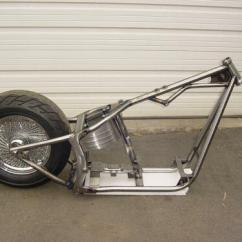 Harley Softail Frame Diagram Kawasaki Bayou 220 Battery Wiring Sell 240 Mm 250mm Wide Tire W Oil Bag Rolling Thunder Brand