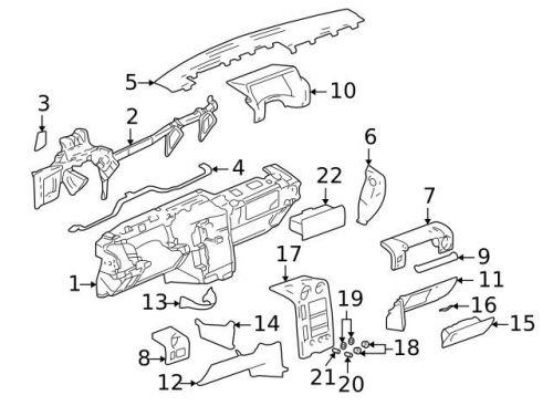 Find 2004-2008 Pontiac Grand Prix Glove Box Lock Latch