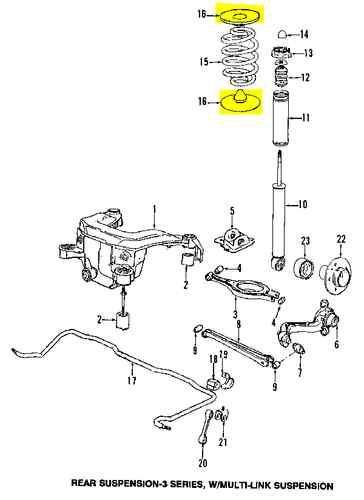 Find BMW 33531136385 GENUINE OEM FACTORY ORIGINAL SPRING
