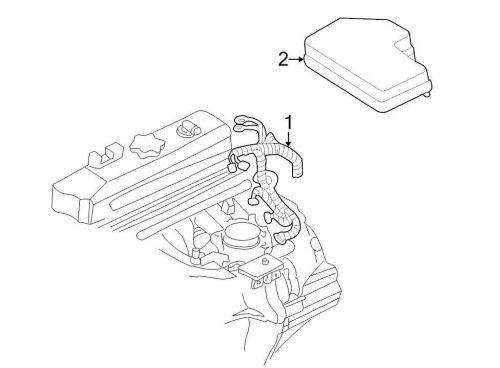 Sell Chrysler OEM Dodge Engine Wiring Harness 56049326AC