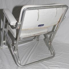 Folding Chair Rubber Feet Blue Pads Purchase Garelick Mariner Boat Deck Seat White With Gimbal Rod Holder Motorcycle ...