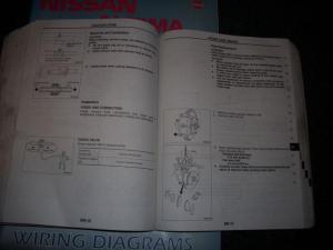 Buy 1993 NISSAN STANZA ALTIMA U13 SERIES FACTORY REPAIR