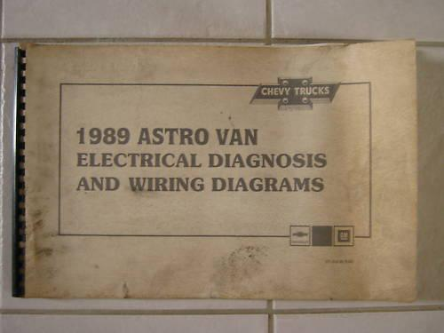 1992 Astro Van Electrical Diagnosis And Wiring Diagrams
