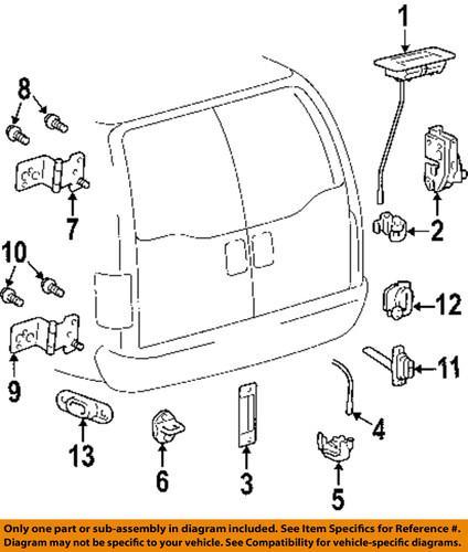 Lincoln Town Car Parts Diagram