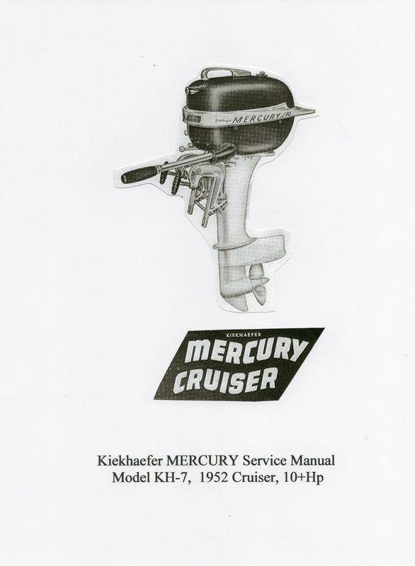 Find Vintage Mercury 10Hp Model KH-7 'Cruiser' Outboard