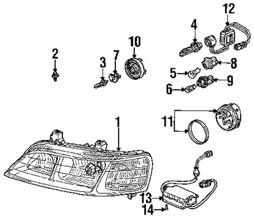 Sell BMW OEM 63127298452 Headlight-Headlamp Assembly