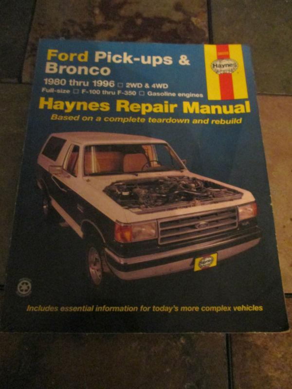 1981 Ford Bronco F100f350 Courier Electrical Troubleshooting Manual