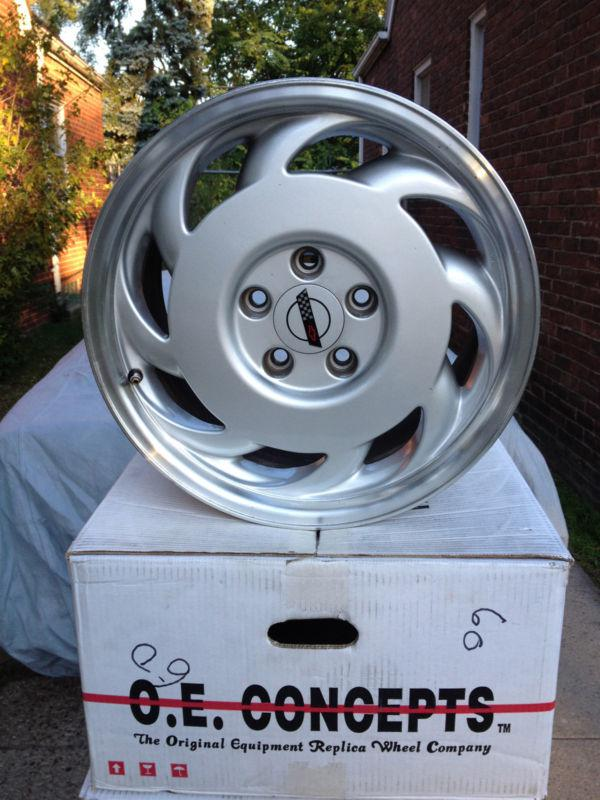 Sell C4 Corvette Wheels Oem Sawblades 17x9 5 With Center